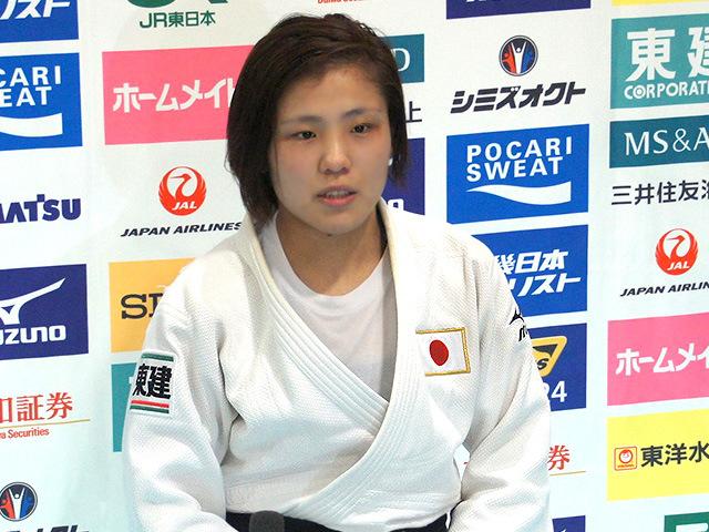 女子70kg級 田知本遥(綜合警備保障:ALSOK)