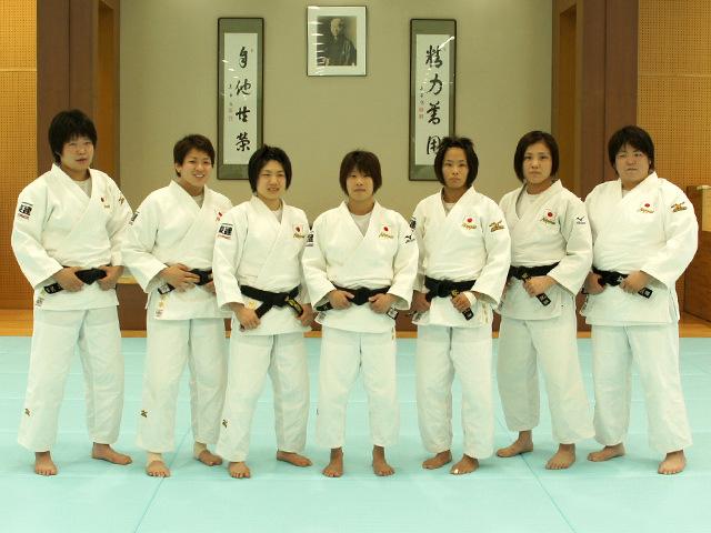 リオデジャネイロ五輪・柔道女子日本代表強化合宿