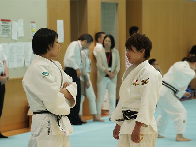 第2回 リオデジャネイロ五輪・柔道女子日本代表強化合宿
