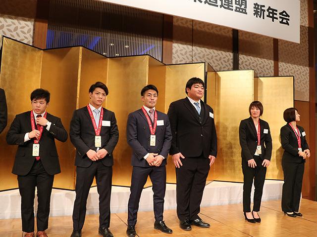 全日本柔道連盟 新年会