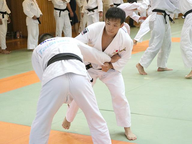 男子60kg級 永山竜樹選手(東海大学4年)�A