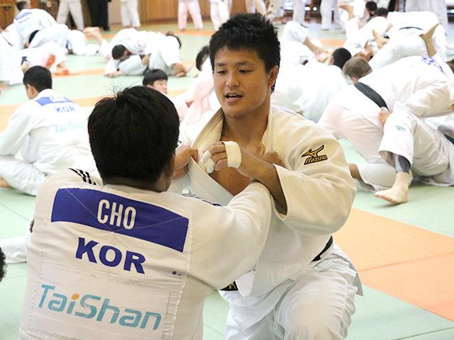 男子100kg級 西山大希選手(新日鐵住金)