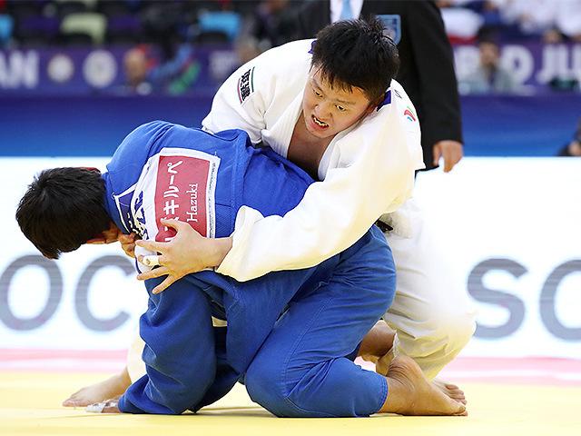 2018年バクー世界選手権 3位決定戦 原沢久喜 vs B.OLTIBOEV
