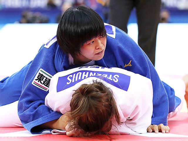 2018年バクー世界選手権 決勝戦 濱田尚里 vs G.STEENHUIS