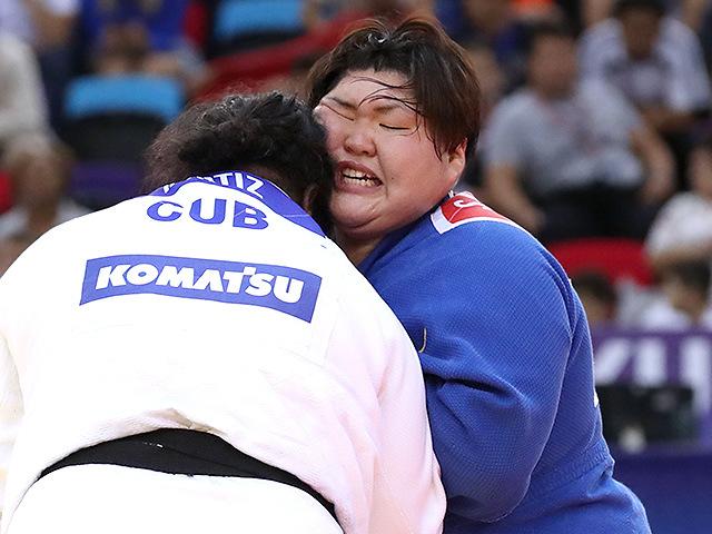 2018年バクー世界選手権 決勝戦 朝比奈沙羅 vs I.ORTIZ