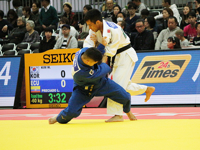 男子60kg級 準々決勝戦 大島優磨 vs E.TAKABATAKE