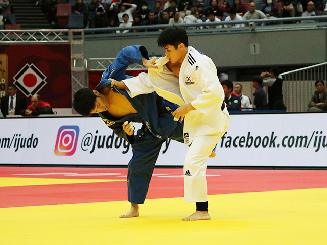 男子60kg級 準々決勝戦 志々目徹 vs W.KIM