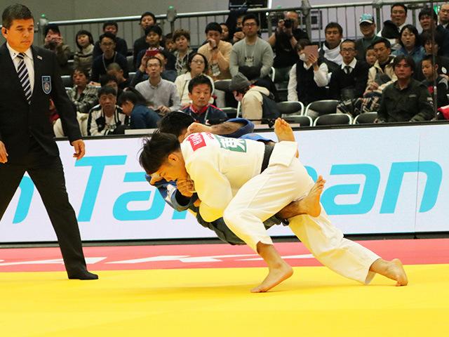 男子66kg級 準々決勝戦 阿部一二三 vs A.GRIGORYAN