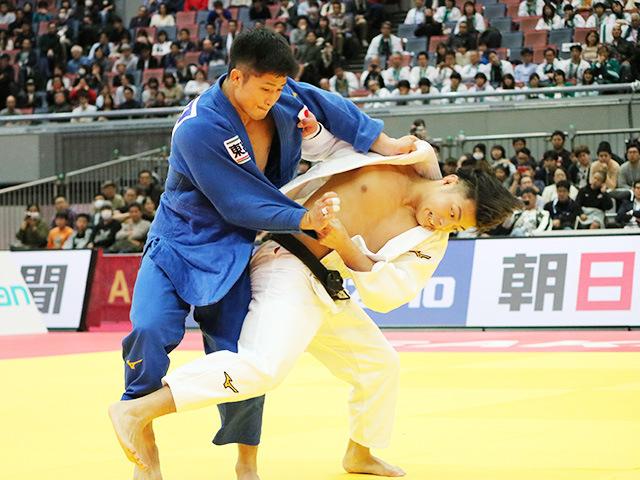 男子66kg級 決勝戦 阿部一二三 vs 丸山城志郎�@
