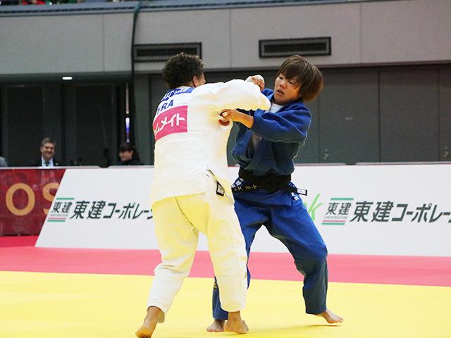 女子52kg級 準々決勝戦 前田千島 vs A.BUCHARD