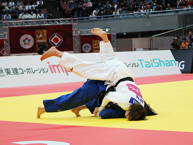 女子52kg級 決勝戦 角田夏美 vs 阿部詩�A