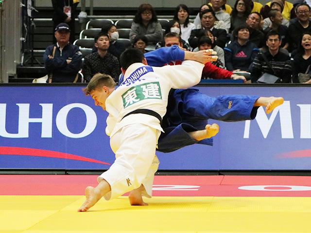 男子73kg級 海老沼匡 vs L.REITER