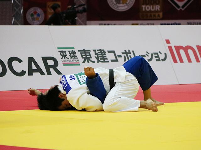 男子81kg級 佐々木健志 vs 小原拳哉