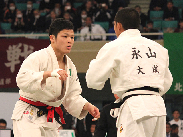 男子60kg級決勝 永山竜樹 vs 大島拓海�A