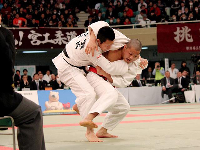 男子73kg級決勝 阿部一二三 vs 古賀颯人�B