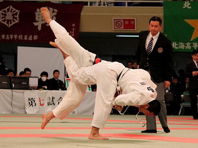 男子81kg級決勝 佐々木健志 vs 飯島俊佑�@