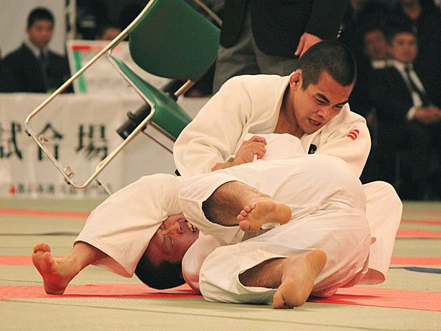 男子81kg級決勝 佐々木健志 vs 飯島俊佑�A
