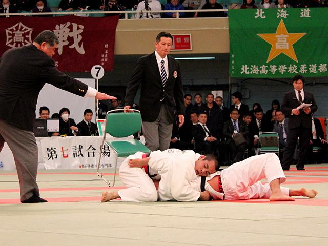 男子81kg級決勝 佐々木健志 vs 飯島俊佑�B