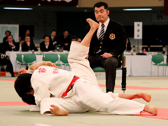 女子52kg級準決勝 前田千島 vs 常見海琴�A
