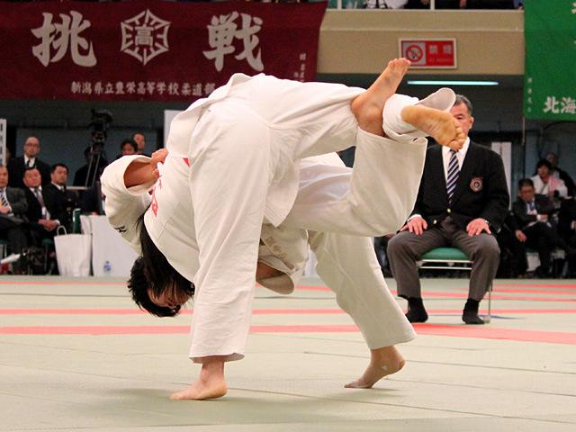 女子57kg級決勝 西尾直子 vs 柴田理帆�A