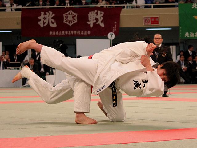 女子63kg級決勝 鍋倉那美 vs 佐藤史織�A