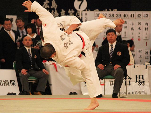 男子73kg級3回戦_内村光暉vs渡辺大地�@