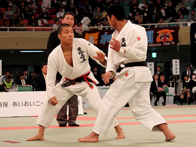 男子81kg決勝_藤原崇太郎vs笠原大雅�@
