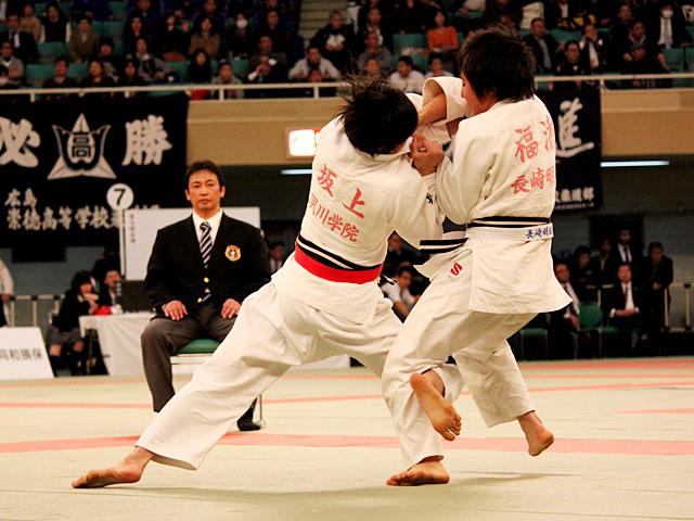 女子52kg級準決勝_坂上綾vs福添みのり�@