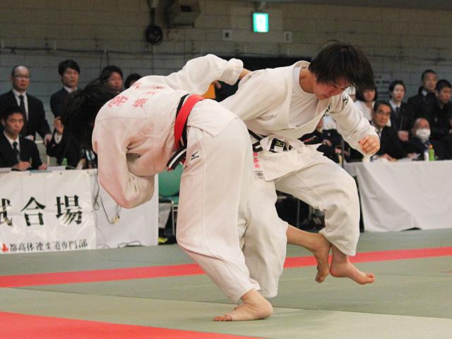 女子52kg級準決勝_常見海琴vs仲田奈央�@