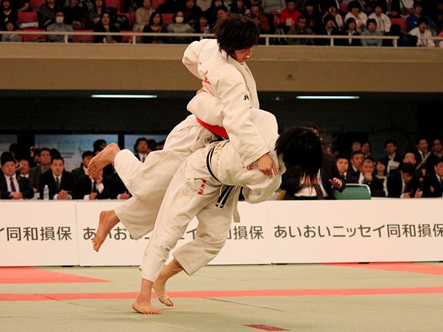 女子52kg級決勝_坂上綾vs常見海琴�@