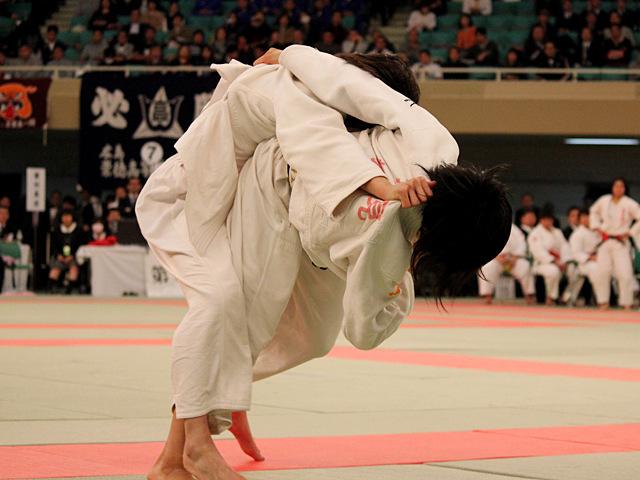 女子52kg級決勝_坂上綾vs常見海琴�A