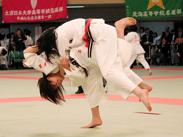 女子57kg級2回戦_對馬涼華vs福崎光砂