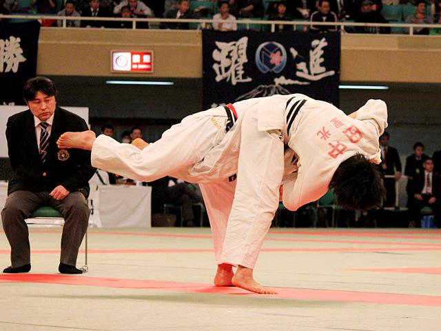 女子63kg級準決勝_嶺井美穂vs田中志歩�@