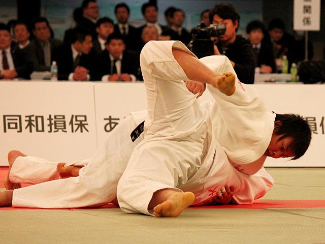 女子70kg級決勝_青柳麗美vs中江美裕�A