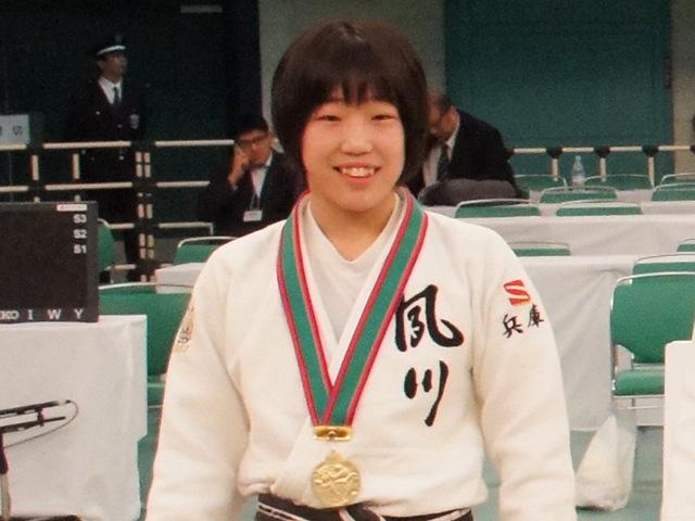 女子48kg級優勝 梅北眞衣