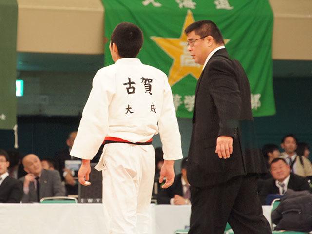男子60kg級決勝 市川龍之介vs古賀玄暉�E