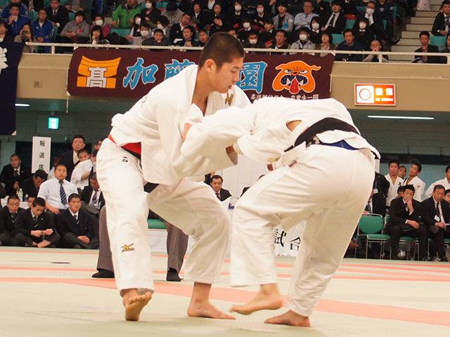 男子66kg級決勝 西村優太vs東亮輝�@