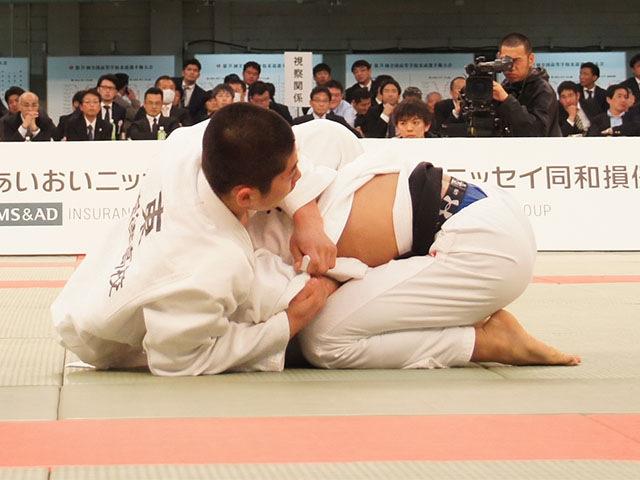 男子66kg級決勝 西村優太vs東亮輝�A