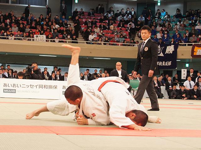 男子73kg級決勝 渡邊神威vs朝比奈龍希�A