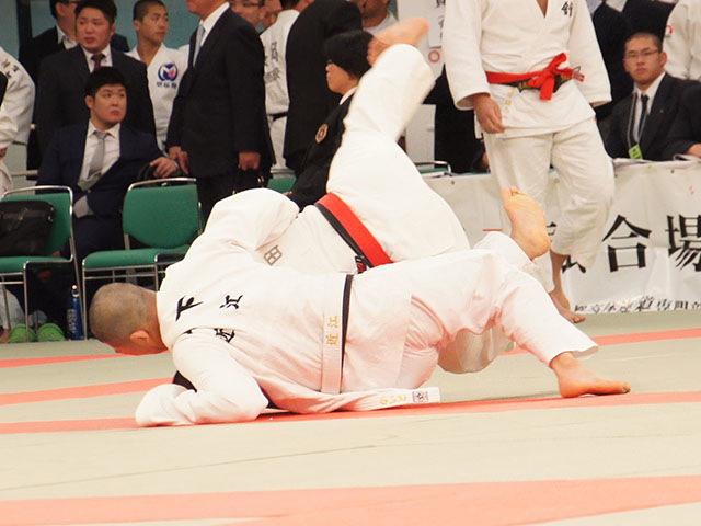 男子81kg級3回戦 濱畑龍也vs山下海渡