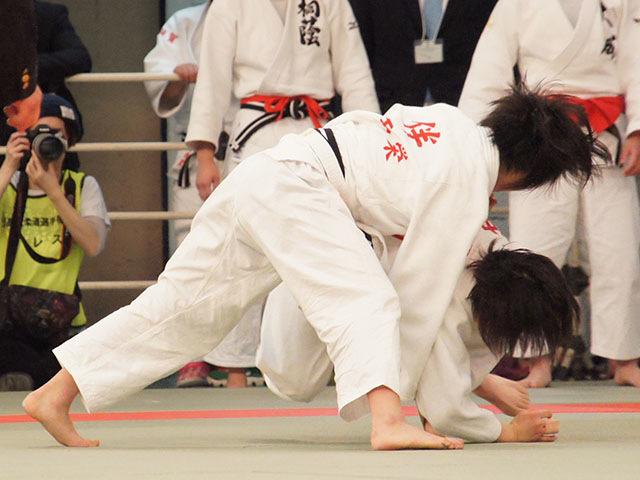 女子48kg級4回戦 伴由梨奈vs仲田奈央