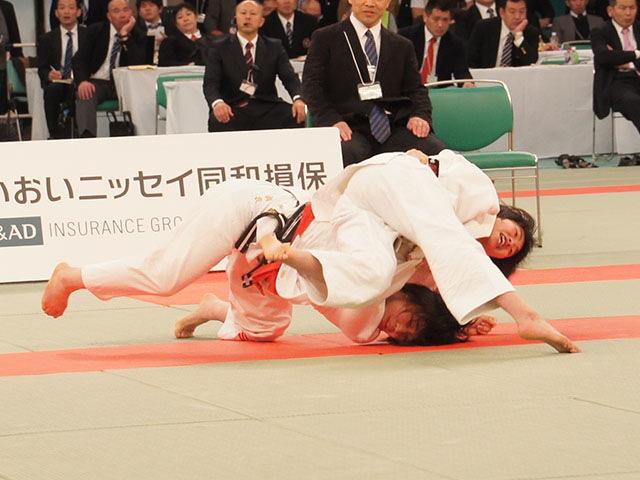 48kg級 梅北眞衣 vs 黒崎美紅