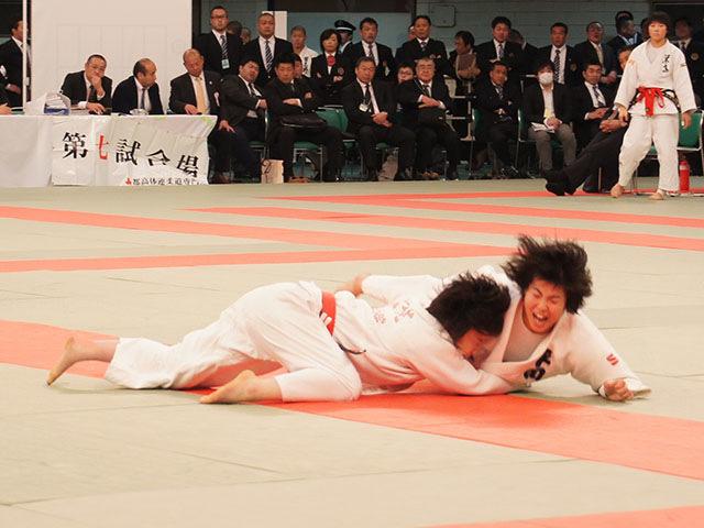 女子48kg級決勝 梅北眞衣vs黒崎美紅�A