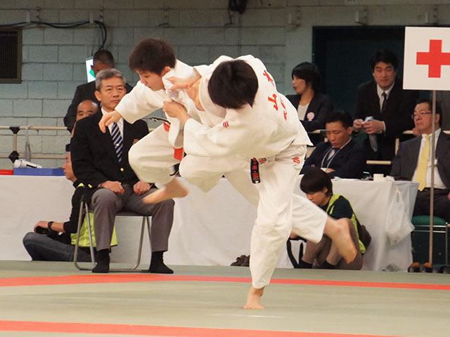 女子57kg級2回戦 五ノ井里奈vs山本奈々瀬