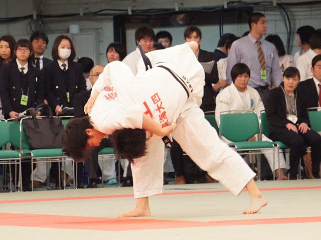 女子57kg級3回戦 三上悠姫vs若藤唯