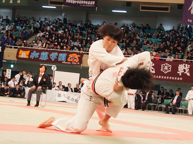 女子63kg級決勝 三浦裕香理vs田中志歩�B