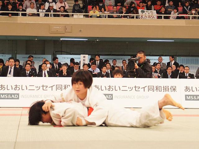 女子63kg級決勝 三浦裕香理vs田中志歩�C