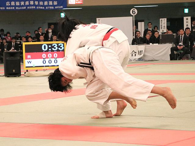 48kg級 安部風花 vs 和田君華