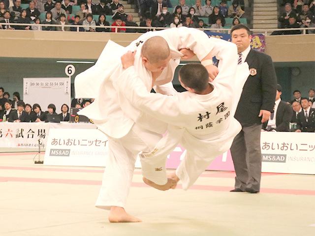 無差別級 中野寛太 vs 村尾三四郎