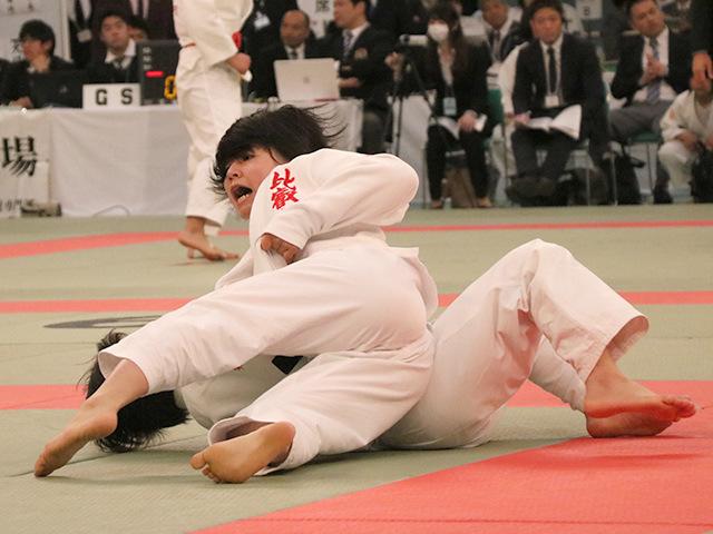 48kg級 堀紫音 vs 芳田真